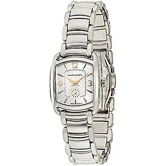 Hamilton ladies Quartz analogue watch with stainless steel band H12351155