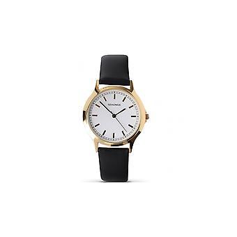 Sekonda Mens Black Strap Horloge 3136