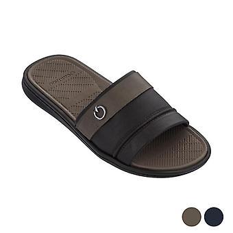 Men's Flip Flops Cartago Firenze Slide/Brown/42