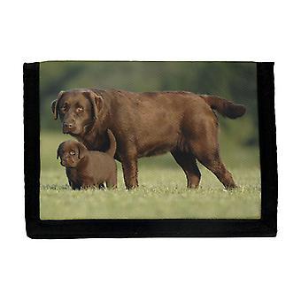 Portefeuille Brown Labrador