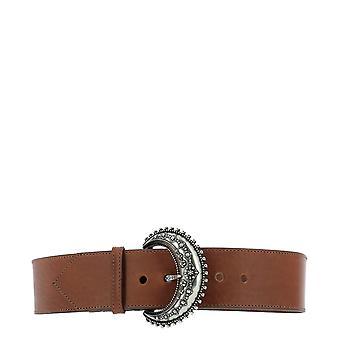 Etro 1n1722410150 Women's Brown Leather Belt