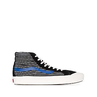 Vans Ezcr011003 Men's Black Fabric Hi Top Sneakers