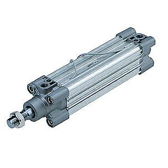 SMC Double Action Double Acting Cylinder 80Mm Bore, 300Mm Stroke