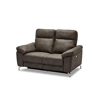 Furnhouse Brown Fabric Electric Sofa Selesta, 3 Seater, 222x96x101 cm