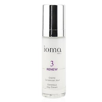 Ioma Renew - Generous Day Cream - 30ml/1oz