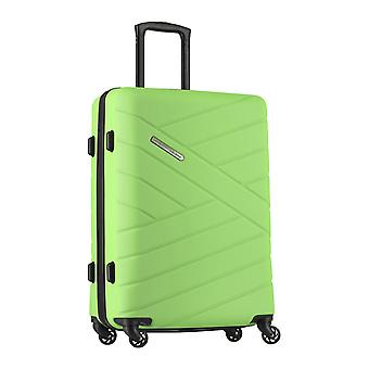 resenären Bliss Trolley L, 4 rullar, 77 cm, 99 L, grön