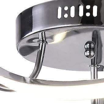 Jandei LED Lampe de plafond réglable ESTELA Tri-tone 100W Ronde