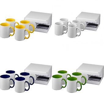 Bullet Ceramic Sublimation Mug Gift Set (Pack Of 4)