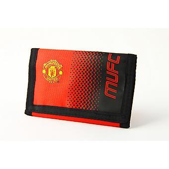 Manchester United FC oficial Fade Touch fútbol cresta cartera de fijación