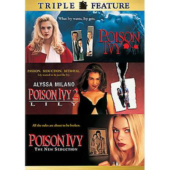 Poison Ivy/Pison Ivy 2/Poison Ivy 3-New Seduction [DVD] USA import