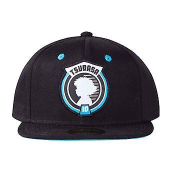 Captain Tsubasa Baseball Cap Badge Logo new Official Black Snapback