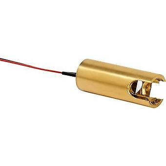 Laserkomponentit Lasermoduuli Linja Punainen 3 mW LC-love My life rope light -635-01-03-A-C