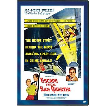 Escape From San Quentin [DVD] USA import