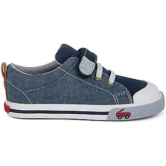 Les enfants voient Kai Run Boys SNS118M233 Low Top Tennis Shoes
