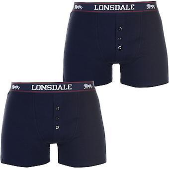 Lonsdale 2 Confezione Boxers Uomo