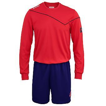 Lotto Mens Football Sports Kit Long Sleeve Sigma (Full Kit Shirt & Shorts)