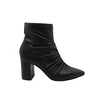 1. staat Womens 1S-Saydie lederen puntige teen enkel mode laarzen