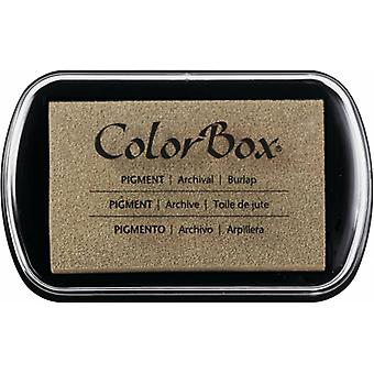 Clearsnap ColorBox Pigment Ink Full Size Burlap