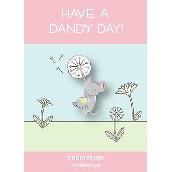 Lawn Fawn Dandy Mouse Enamel Pin