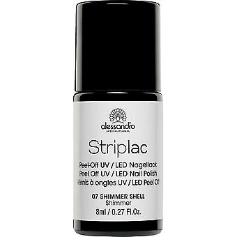 StripLAC Peel Off UV LED Nail Polish - Shimmer Shell 8ml (07)