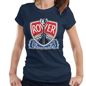 Rover Logo With Border British Motor Heritage Women's T-Shirt
