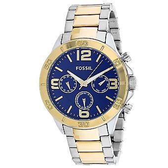 165, Hombres Fósiles 's BQ7013 Reloj tonal Bi de cuarzo