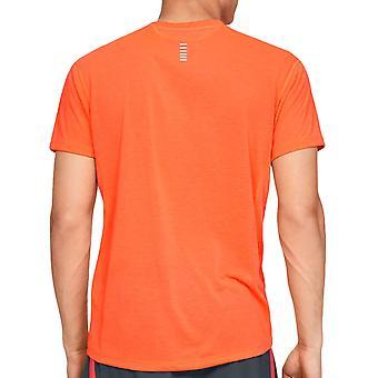 Under Armour Mens Sleeveless Tank Top Training Gym Vest Orange 127822 890