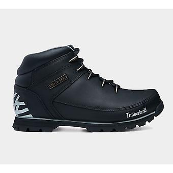 Timberland Euro Sprint Hiker Black Men'S A17Jr Shoes Boots