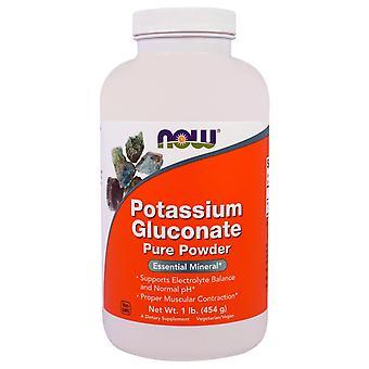 Now Foods, Potassium Gluconate Pure Powder, 1 lb (454 g)