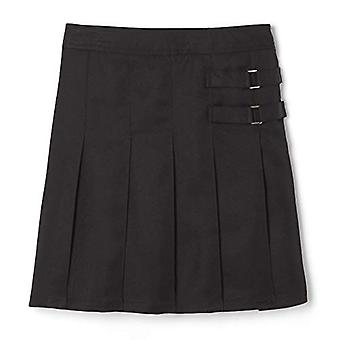 French Toast Girls'  2-Tab Scooter skirt, black, 16,Big Girls