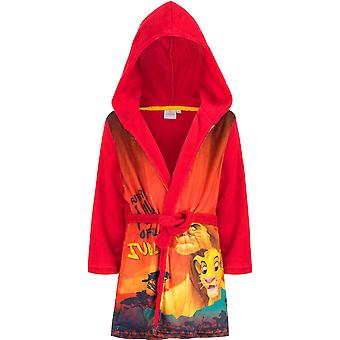 Disney lion king boys robe dressing gown lk2217rob