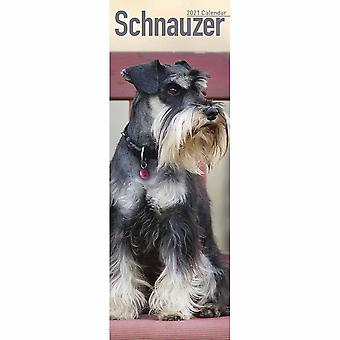 Otter House 2021 Slim Calendar-schnauzer