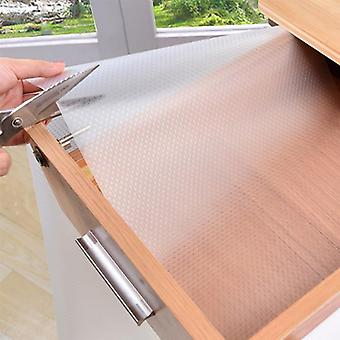 Transparent Waterproof Oilproof Shelf Cover, Mat Drawer, Cabinet Anti Slipping