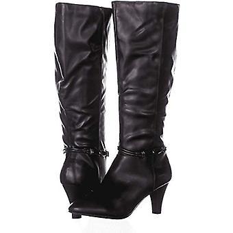 Karen Scott Hollee Wide-Calf Dress Boots Taille Noire 9M