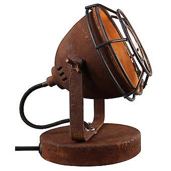 BRILLIANT Carmen bordslampa rostfärgade innerlampor,bordslampor,-dekorativa | 1x PAR51, GU10, 28W, lämplig för reflektorlampor
