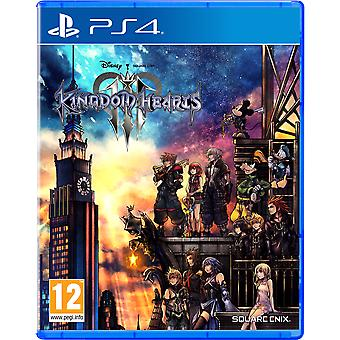 Kingdom Hearts III PS4 -peli