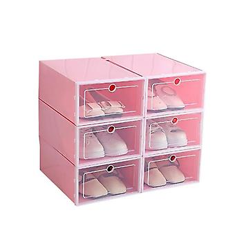 Drawer Organizer Shoe Boxes Stackable Folding Drawers Storage Container