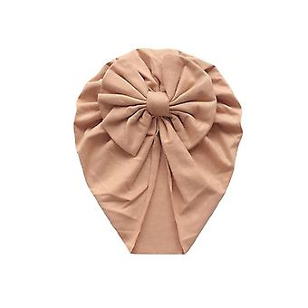 Baby Headband Cappello Arco Nodo Stampa Cotone Stretchy Turban Infant Wrap Beanie