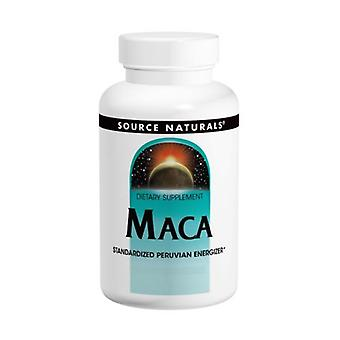 Source Naturals Maca, 250 MG, 60 onglets
