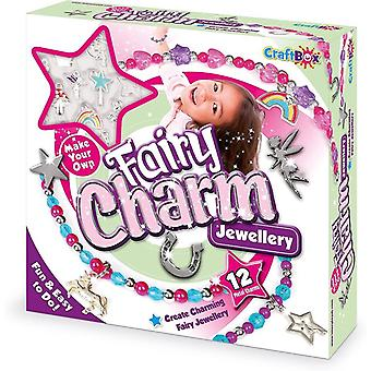 fablab craft in a box fairy charm jewellery kit for ages 8 and above