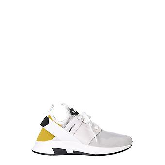 Tom Ford J1265ttof003c8204 Men's White Leather Sneakers