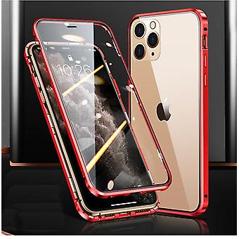 Magnetic case double-sided tempered glass for Iphone 7/8/SE2020