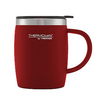 Thermos Soft Touch Desk Mug Red 450ml 105095