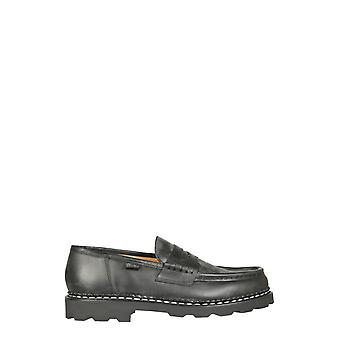 Paraboot 099412 Men's Black Leather Loafers
