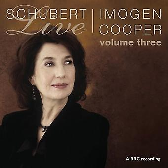 F. Schubert - Schubert Live, Vol. 3 [CD] USA importeren