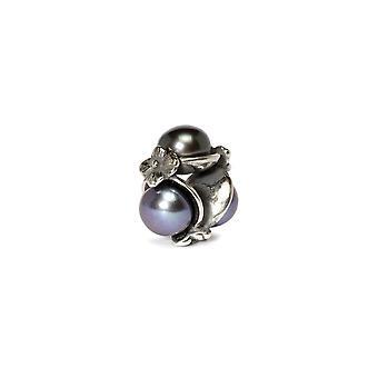 Trollbeads Triple Pearl Black TAGBE-00095