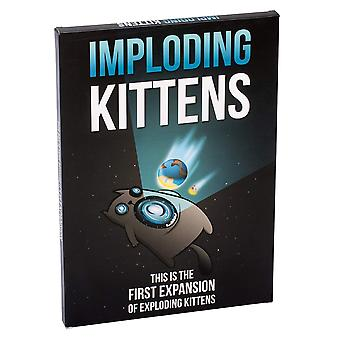Imploding kittens: this is the first expansion of exploding kittens card game - family-friendly part