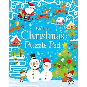 Christmas Puzzles Pad Puzzle Pads