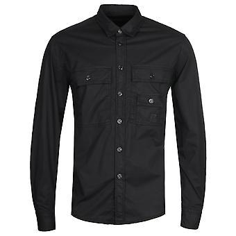 Diesel S-Allen-Ka Black Poplin Shirt
