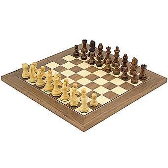 Kopf Set klassische Sheesham Deluxe Schach